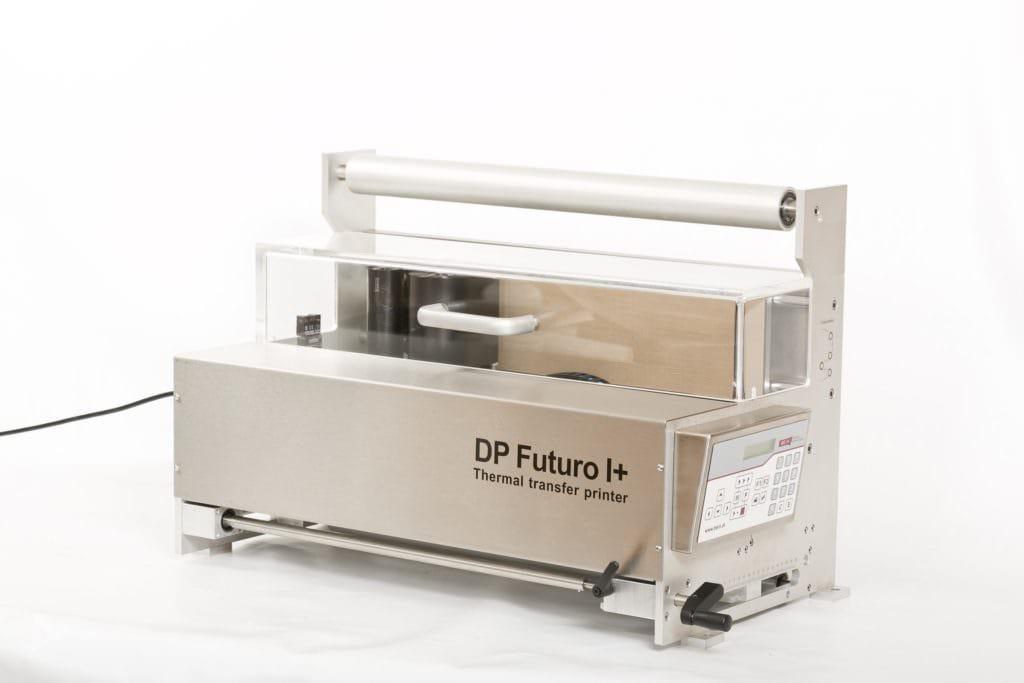 Thermotransferdrucksystem für Etikettendruck, DP Futuro I+