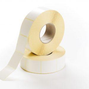 Etiketten Papier 50 x 60 mm weiß