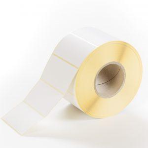 Etiketten Papier 110 x 60 mm weiß matt