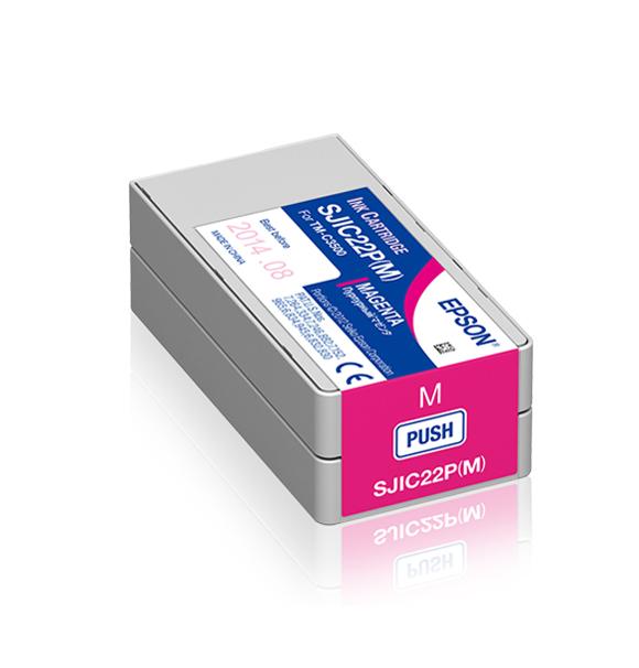 Farbkartusche magenta C3500.klein