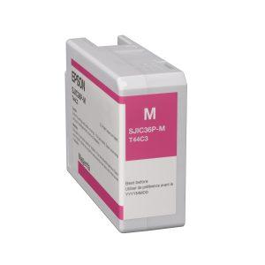 Epson Colorworks C6000/C6500/C6500Ae Farbkartusche magenta
