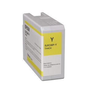 Epson Colorworks C6000/C6500/C6500Ae Farbkartusche yellow